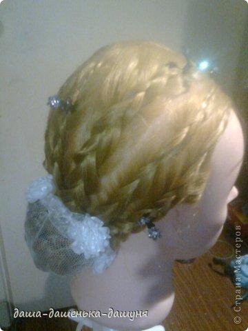 Праздничные причёски: Вид сзади. фото 10