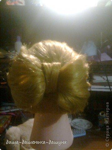 Праздничные причёски: Вид сзади. фото 15