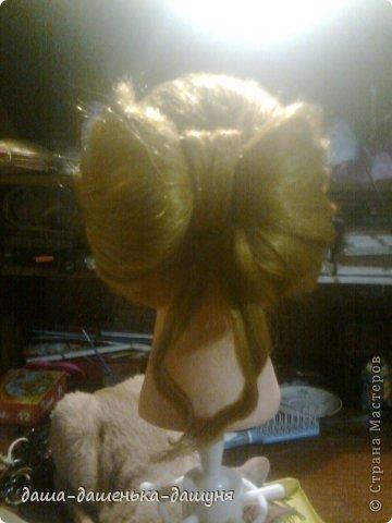 Праздничные причёски: Вид сзади. фото 16