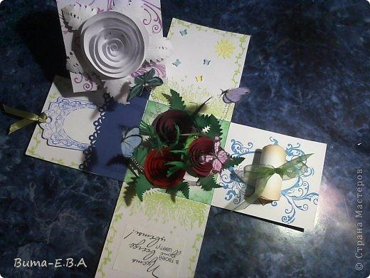 Поделка изделие 8 марта День матери День рождения День учителя Бумагопластика Школьная коробочка и ее МК Бумага Клей Краска Ленты Проволока Скотч фото 36