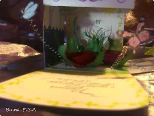 Поделка изделие 8 марта День матери День рождения День учителя Бумагопластика Школьная коробочка и ее МК Бумага Клей Краска Ленты Проволока Скотч фото 37