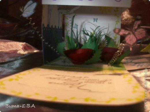 Поделка изделие 8 марта День матери День рождения День учителя Бумагопластика Школьная коробочка и ее МК Бумага Клей Краска Ленты Проволока Скотч фото 38