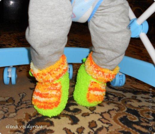 как тепло в ножки в таких пинетках!