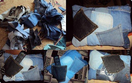 Я тоже попробывала шить и мне так понравилось!А еще больше надоело,что джинсы которыми не пользуемся перекладываем с полки на полку потому что выбросить рука не поднимается.И так не судите строго-это мой дебют. фото 5