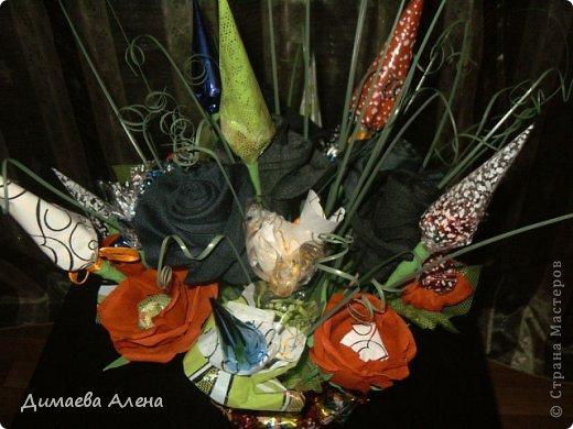 Розы из носков фото 3