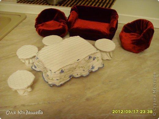 Домик сделал мой муж, из фанеры........Очень старались........ фото 8