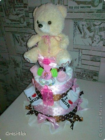 Мой первый тортик для Машеньки))