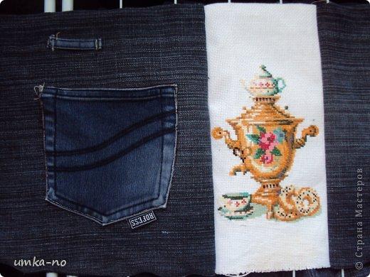 Я тоже попробывала шить и мне так понравилось!А еще больше надоело,что джинсы которыми не пользуемся перекладываем с полки на полку потому что выбросить рука не поднимается.И так не судите строго-это мой дебют. фото 18