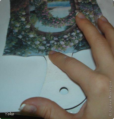 Продолжаю постигать технику ДЕКУПАЖА! На этот раз делаю досочку с кракелюром из яичной скорлупки. Начнем!! фото 4