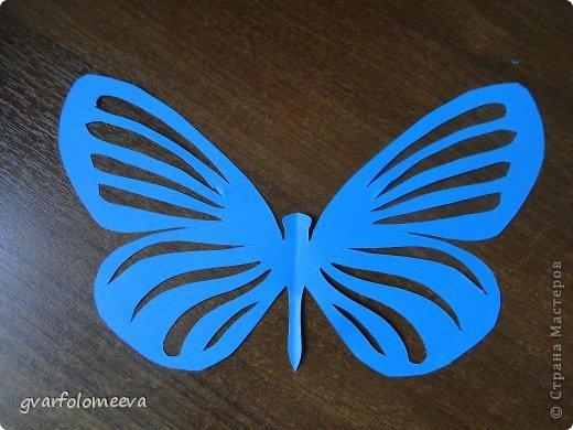 Декор предметов Вырезание Бабочки+схема Бумага фото 2