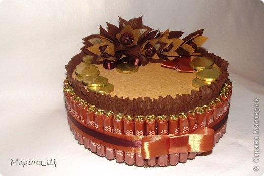 Торт из конфет для мужчин!