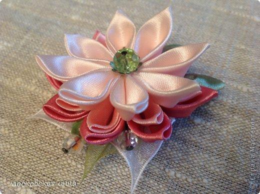 Эта брошка была сделана для подруги просто так, в подарок для хорошего настроения! фото 3