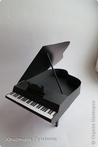 Здравствуйте! Очень давно хотела сотворить рояль... И вот лучше случая не придумаешь - день рождение у девочки-пианистки!  фото 2