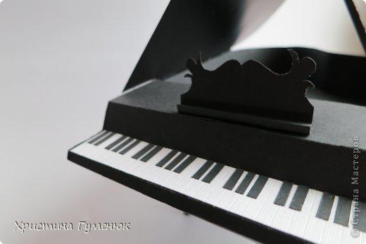 Здравствуйте! Очень давно хотела сотворить рояль... И вот лучше случая не придумаешь - день рождение у девочки-пианистки!  фото 1