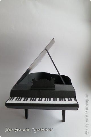 Здравствуйте! Очень давно хотела сотворить рояль... И вот лучше случая не придумаешь - день рождение у девочки-пианистки!  фото 3