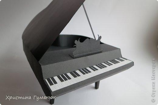 Здравствуйте! Очень давно хотела сотворить рояль... И вот лучше случая не придумаешь - день рождение у девочки-пианистки!  фото 4