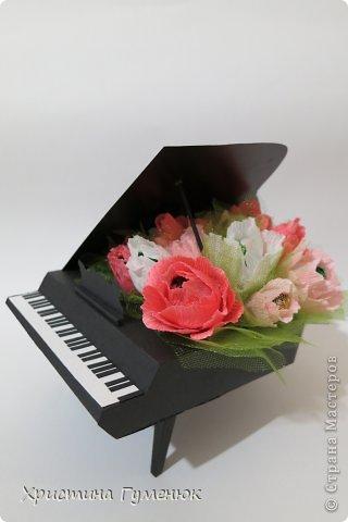 Здравствуйте! Очень давно хотела сотворить рояль... И вот лучше случая не придумаешь - день рождение у девочки-пианистки!  фото 5