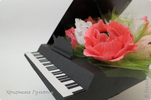 Здравствуйте! Очень давно хотела сотворить рояль... И вот лучше случая не придумаешь - день рождение у девочки-пианистки!  фото 6
