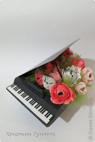 Здравствуйте! Очень давно хотела сотворить рояль... И вот лучше случая не придумаешь - день рождение у девочки-пианистки!  фото 7