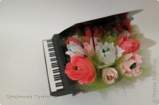 Здравствуйте! Очень давно хотела сотворить рояль... И вот лучше случая не придумаешь - день рождение у девочки-пианистки!  фото 9