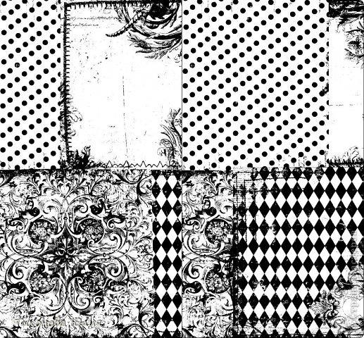 """Я увлекаюсь скрапбукингом, но к сожалению не имею цветного принтера для печатания красивых фонов. Недавно купила набор черно-белой скрап-бумаги форматом 15х15 и отсканировала в формате """"черно-белый рисунок или текст"""". Теперь распечатываю на цветной бумаге. фото 4"""