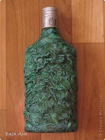 """Здравствуйте, девочки!  Сделалась у меня вот такая бутылочка, для рыбака. Бутылочка полная"""" воды"""" .  Использовала фото, из инета. фото 6"""
