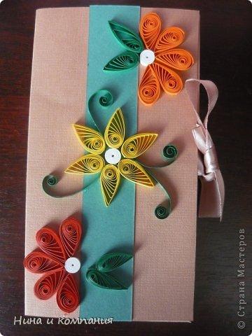 Такие открытки и шоколадница мои дети делали в подарок на 8 марта, а я им немного помогала. фото 11