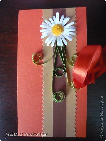 Такие открытки и шоколадница мои дети делали в подарок на 8 марта, а я им немного помогала. фото 12