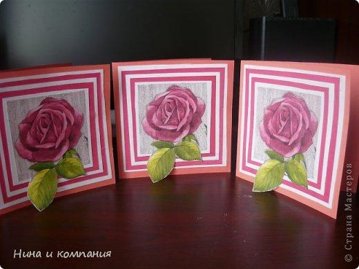 Такие открытки и шоколадница мои дети делали в подарок на 8 марта, а я им немного помогала. фото 14