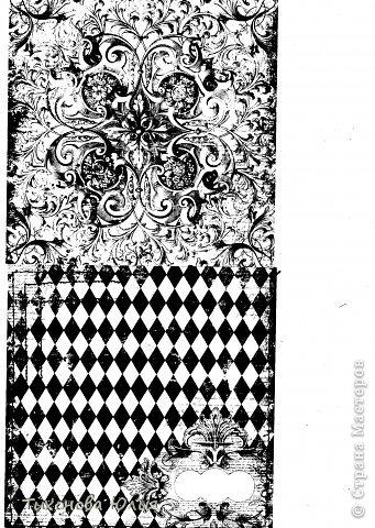 """Я увлекаюсь скрапбукингом, но к сожалению не имею цветного принтера для печатания красивых фонов. Недавно купила набор черно-белой скрап-бумаги форматом 15х15 и отсканировала в формате """"черно-белый рисунок или текст"""". Теперь распечатываю на цветной бумаге."""