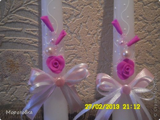 Свадебные свечи! фото 2