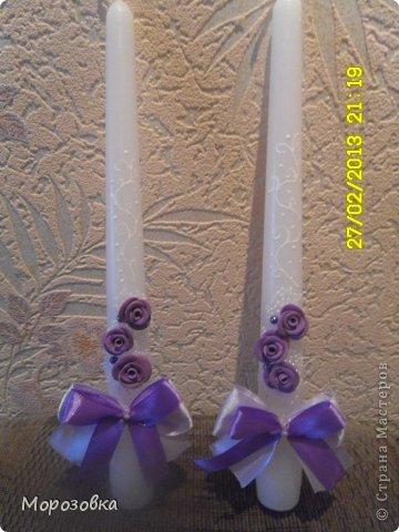 Свадебные свечи! фото 3