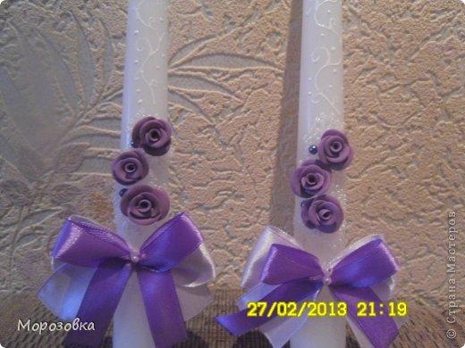 Свадебные свечи! фото 4