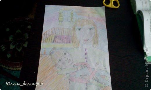 Вот рисунок, который мы рисовали сегодня на ИЗО. фото 1