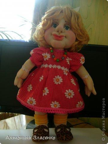 Эту куклу мне заказала внучатая племянница на свое день рождение. Ей 4 года.  фото 1