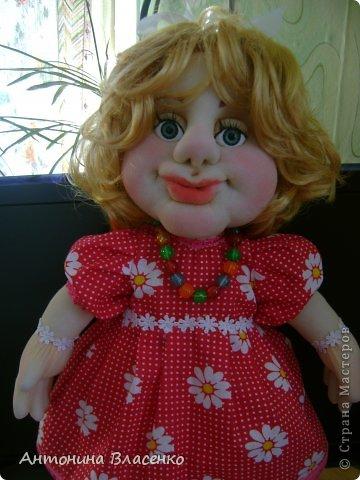 Эту куклу мне заказала внучатая племянница на свое день рождение. Ей 4 года.  фото 2