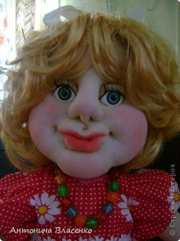 Эту куклу мне заказала внучатая племянница на свое день рождение. Ей 4 года.  фото 3