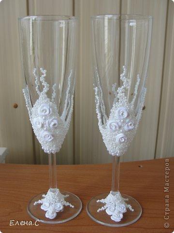 Бокальчики свадебные фото 2