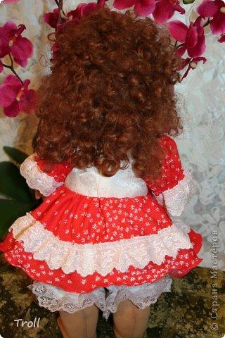 """Текстилная кукла """"Франческа""""! фото 8"""