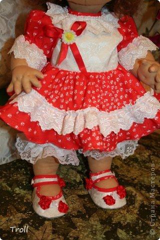 """Текстилная кукла """"Франческа""""! фото 7"""
