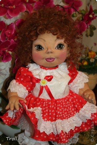 """Текстилная кукла """"Франческа""""! фото 5"""