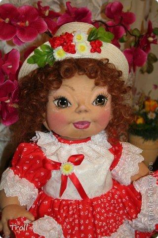 """Текстилная кукла """"Франческа""""! фото 4"""