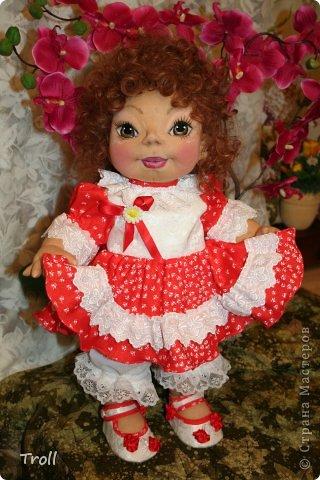 """Текстилная кукла """"Франческа""""! фото 3"""