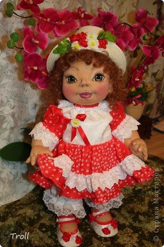"""Текстилная кукла """"Франческа""""! фото 2"""