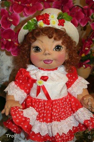 """Текстилная кукла """"Франческа""""! фото 1"""