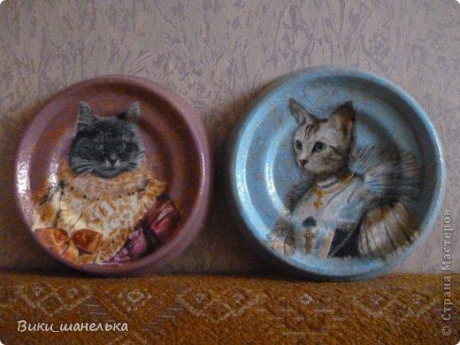 К 8 Марта сделала подруге вот таких котиков. Кошечка мне самой понравилась. Прямо Леди!!! фото 2