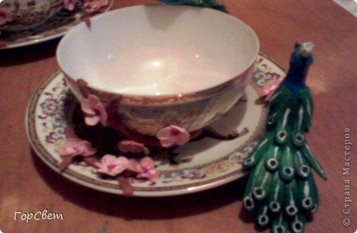 Напарница попросила сделать ей чайную пару.Вот что из этого получилось. фото 4