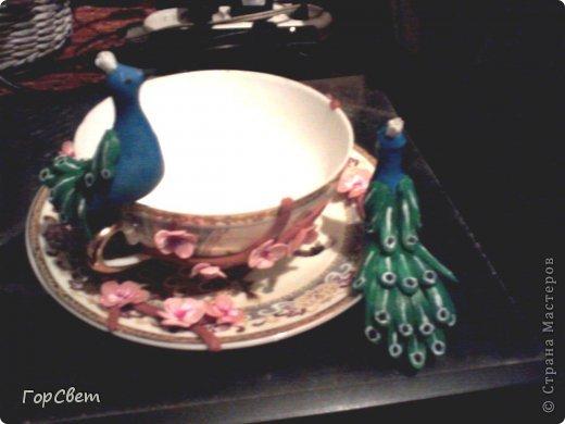 Напарница попросила сделать ей чайную пару.Вот что из этого получилось. фото 5