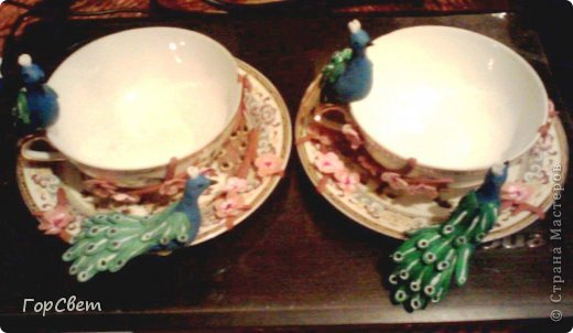 Напарница попросила сделать ей чайную пару.Вот что из этого получилось. фото 6