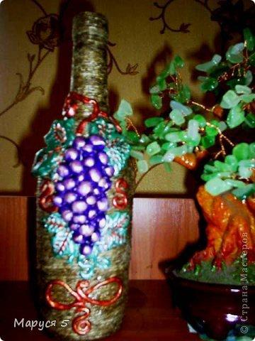 Сделала такие бутылочки по просьбе подружки на дачу )) фото 1